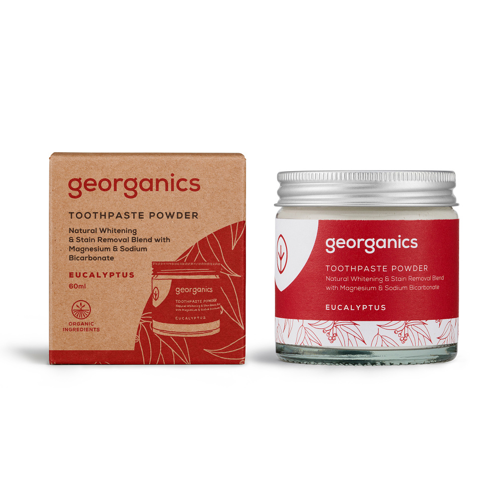 Georganics Eukalyptus zubní prášek 60 ml