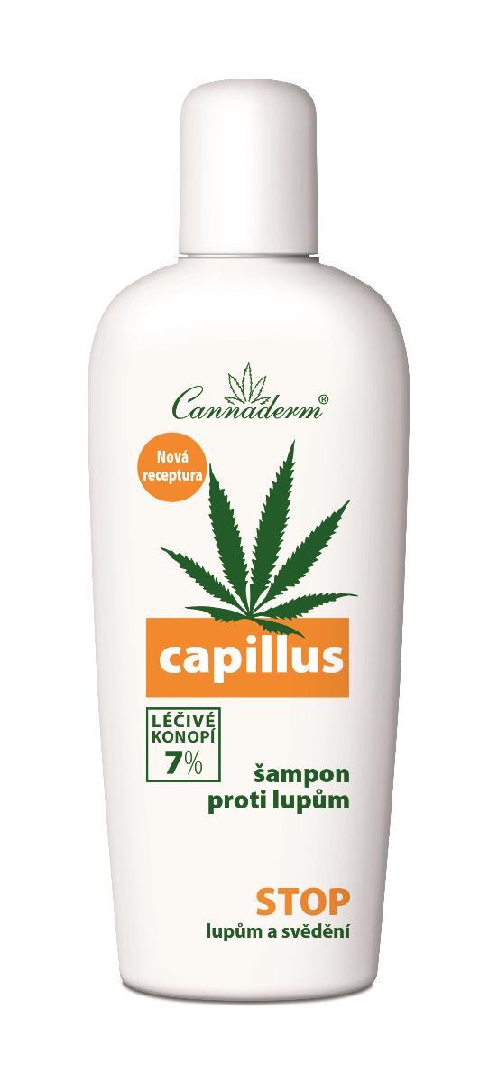 Cannaderm Capillus Šampon proti lupům 150 ml