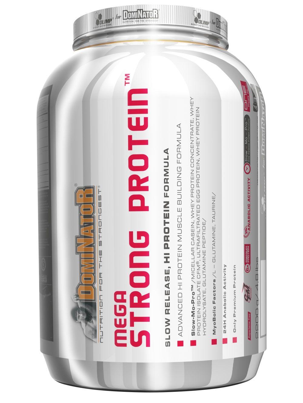 Olimp Mega Strong Protein vanilka 2000 g