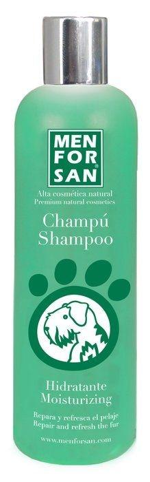MenForSan Přírodní hydratační šampon pro psy se zeleným jablkem 300ml