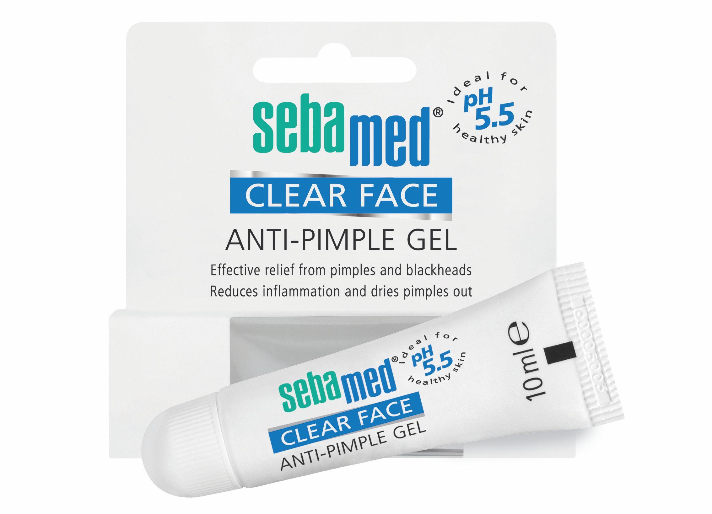 Sebamed Clear Face Anti pimple gel tyčinka na akné 10 ml