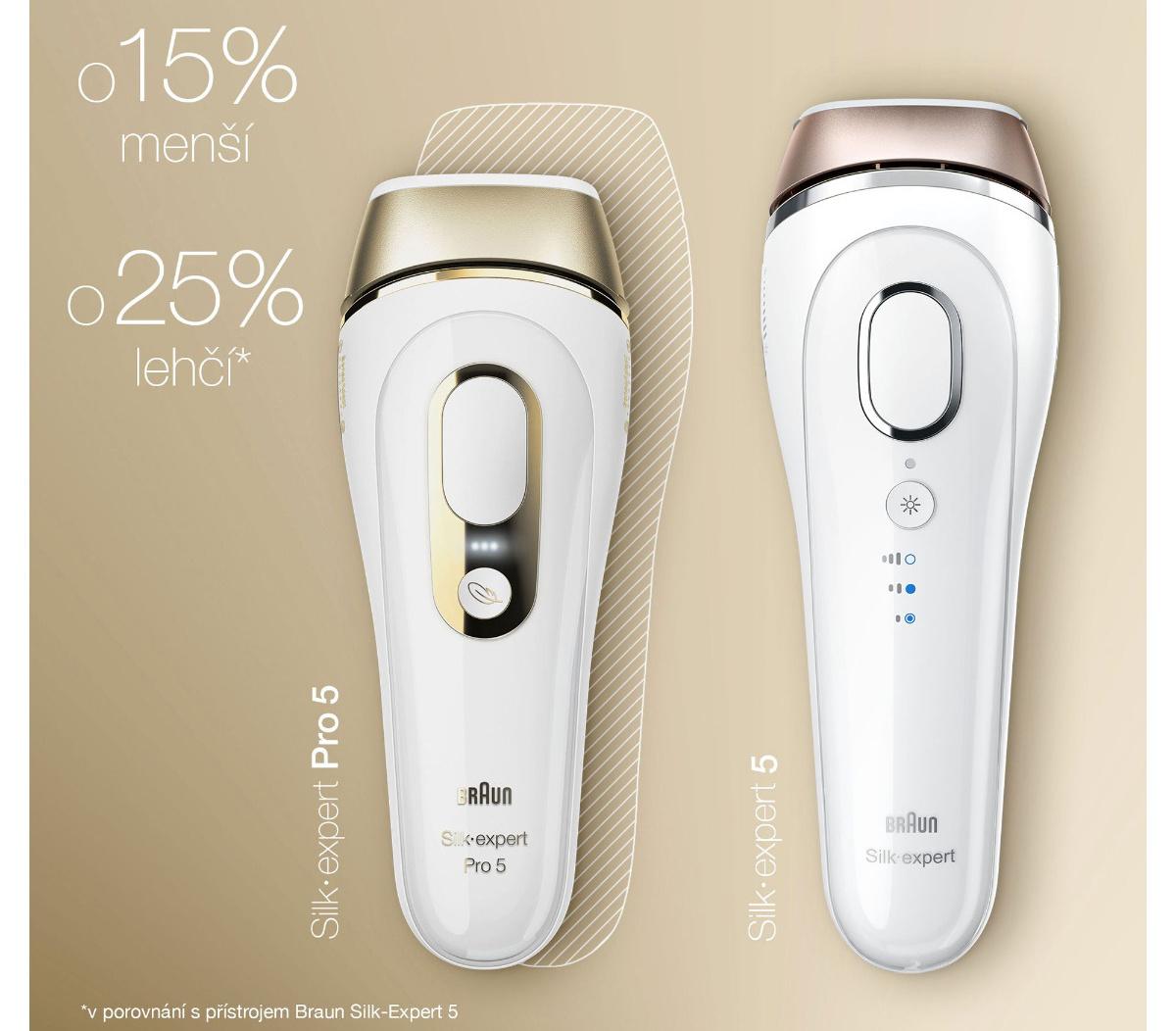 Braun Silk expert Pro5 PL5117 IPL epilátor2x