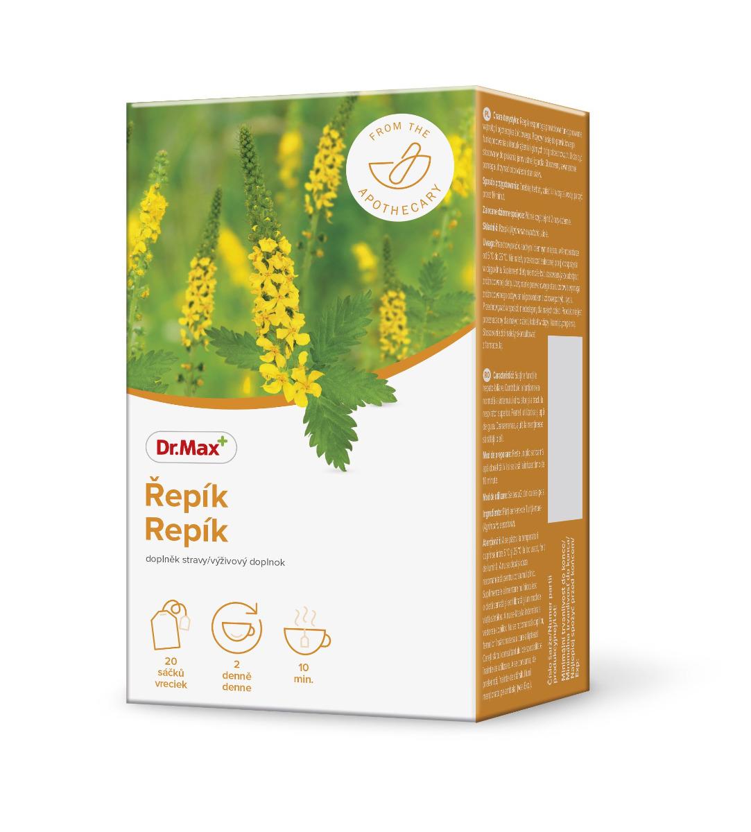 Dr.Max Řepík bylinný čaj 20x1,5 g