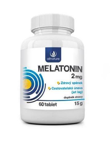 E-shop Allnature Melatonin 2 mg 60 tablet