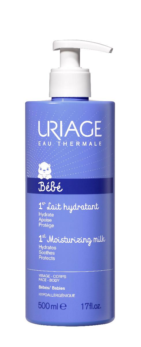 Uriage Bébé Hydratační tělové mléko pro nejmenší 500 ml