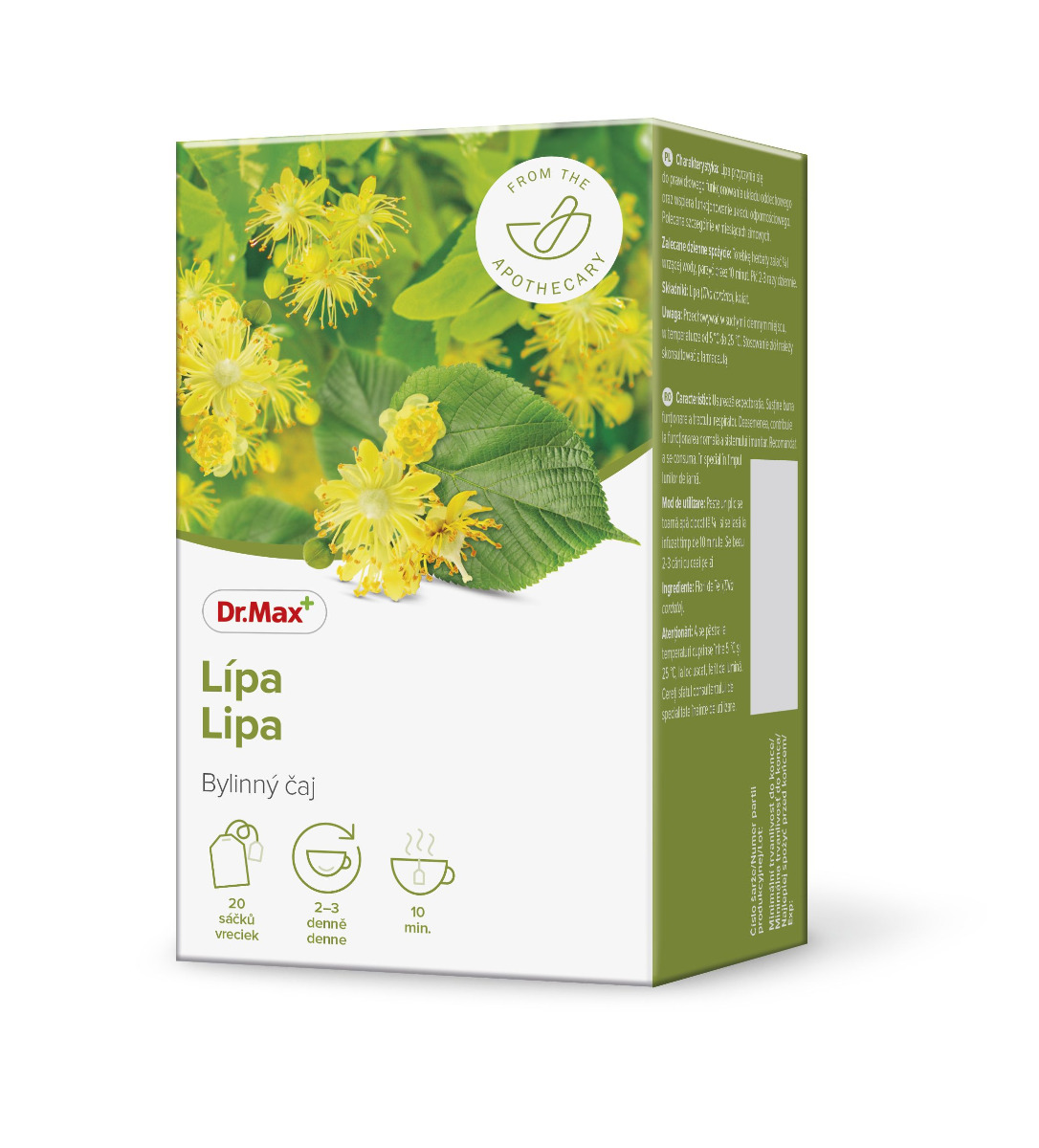 Dr.Max Lípa bylinný čaj 20x1,5 g