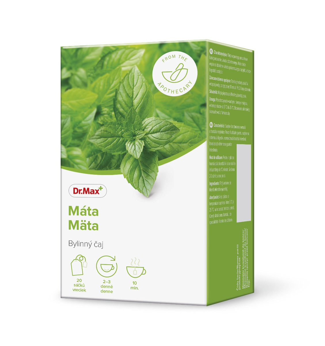 Dr.Max Máta bylinný čaj 20x1,5 g