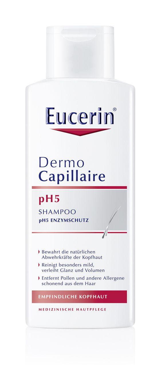 Eucerin Dermocapillaire pH5 Šampon na vlasy pro citlivou pokožku 250 ml