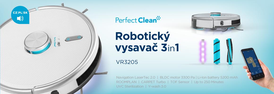 Concept Perfect Clean VR3205 3v1 robotický vysavač s mopem8