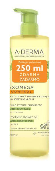 A-Derma Exomega Control zvláčňující sprchový olej 750 ml