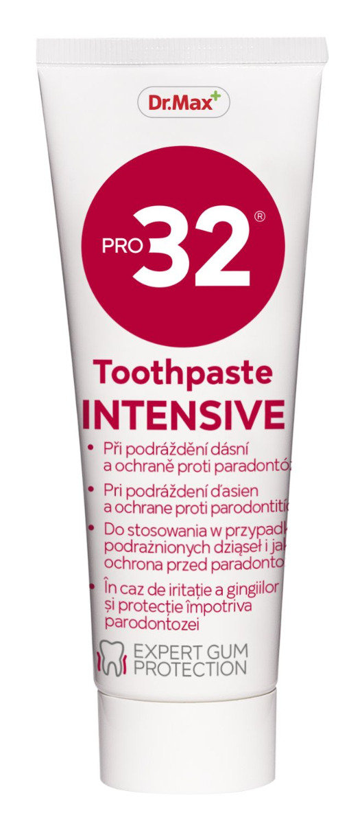 Dr.Max PRO32 Intensive zubní pasta 75 ml