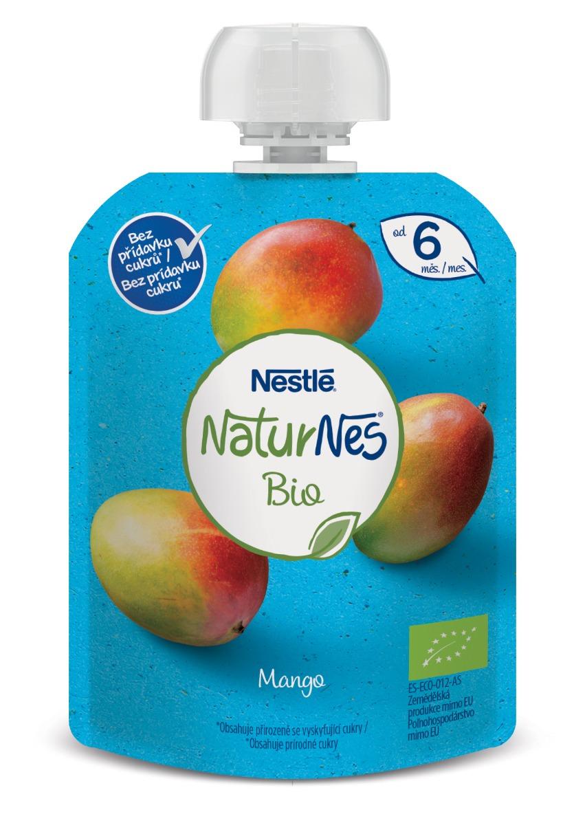 Nestlé Naturnes BIO Mango kapsička 90 g