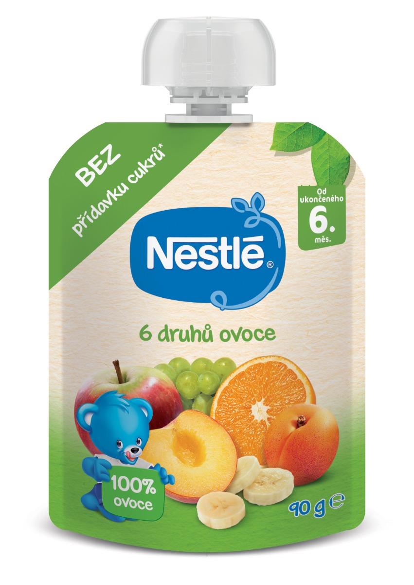 Nestlé 6 druhů ovoce kapsička 90 g