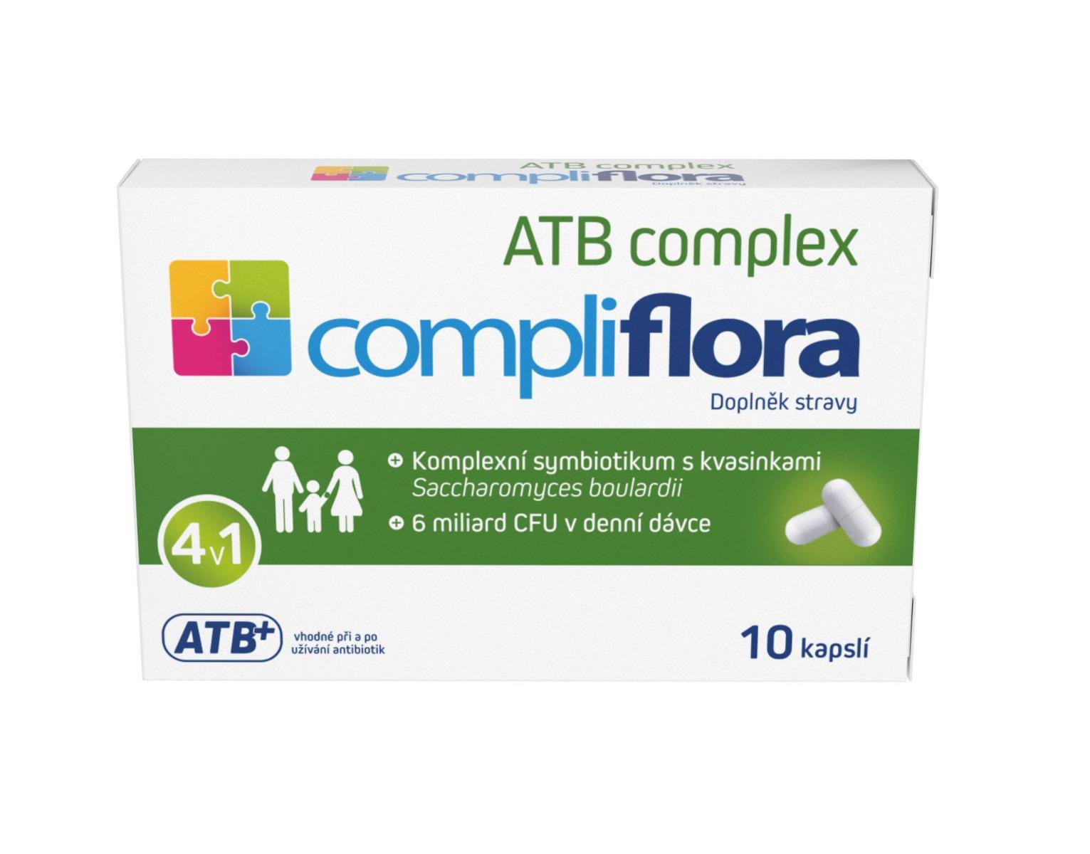 Compliflora ATB complex 10 kapslí