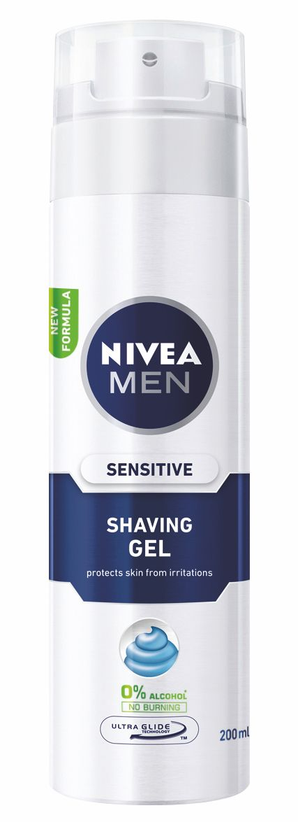 Nivea MEN Gel na holení Sensitive 200 ml