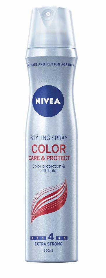 Nivea Lak na vlasy Color Care & Protect 250 ml