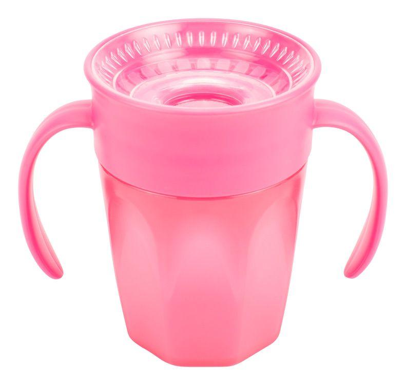 Dr.Browns Hrneček Cheers360 6m+ 200 ml 1 ks růžový