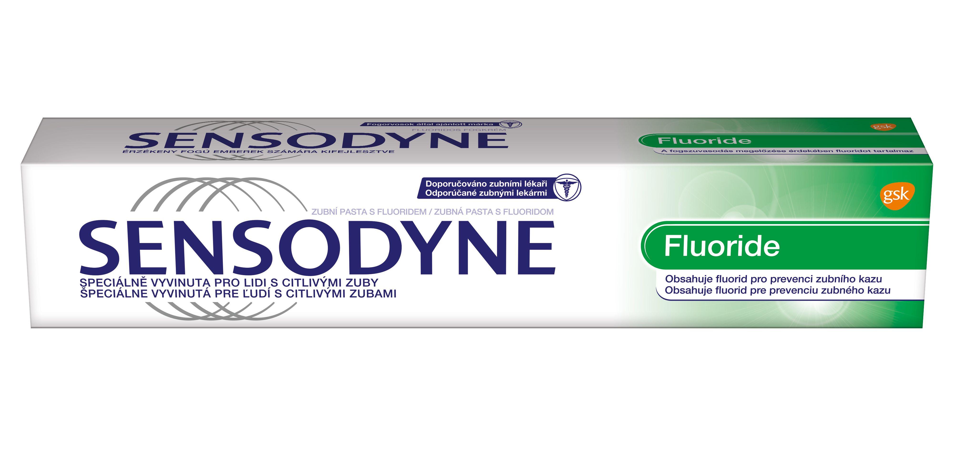 Sensodyne Fluoride zubní pasta 75 ml