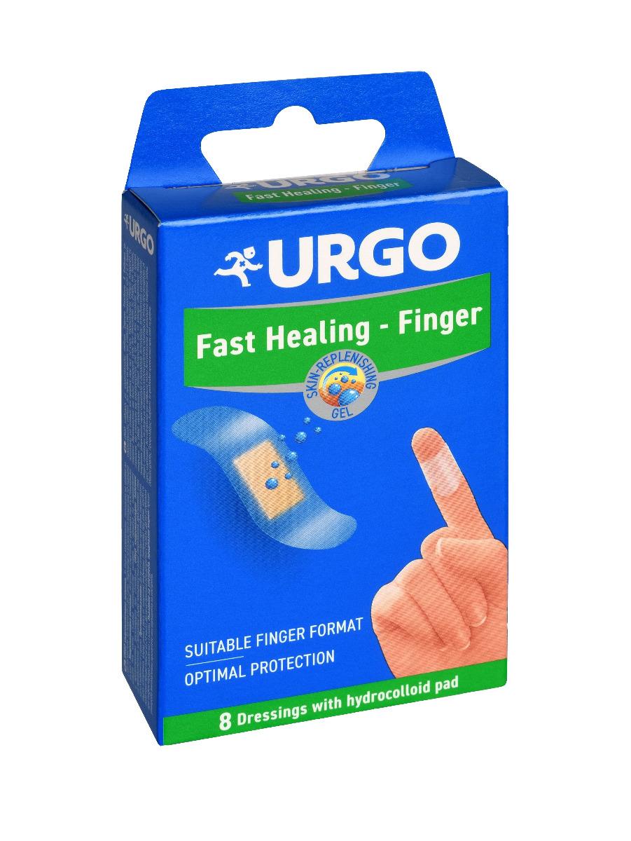 Urgo Fast Healing - Finger hydrokoloidní náplast na prsty 8 ks