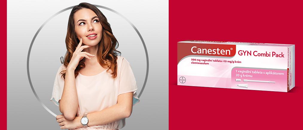 Canesten GYN COMBI PACK vaginální tableta a krémayx