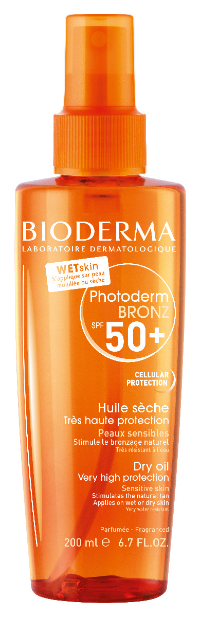 BIODERMA Photoderm Bronz SPF50+ olej 200 ml
