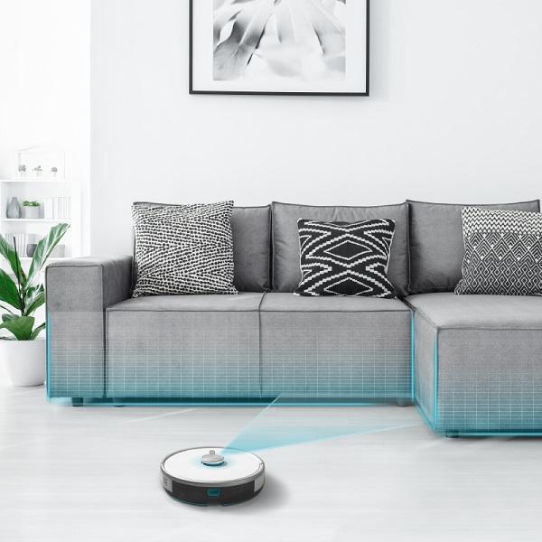 Concept Perfect Clean VR3205 3v1 robotický vysavač s mopem4