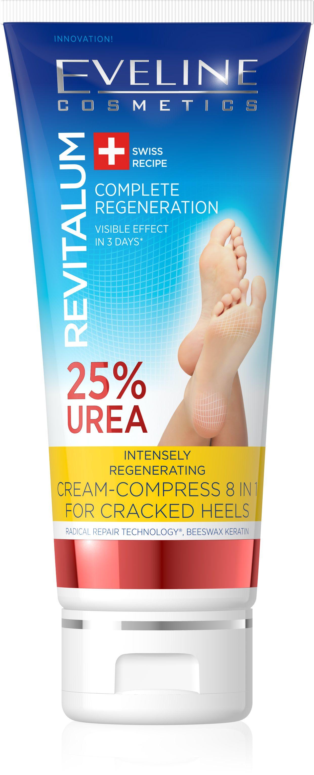 Eveline REVITALUM 25% Urea krém na popraskané paty 75 ml