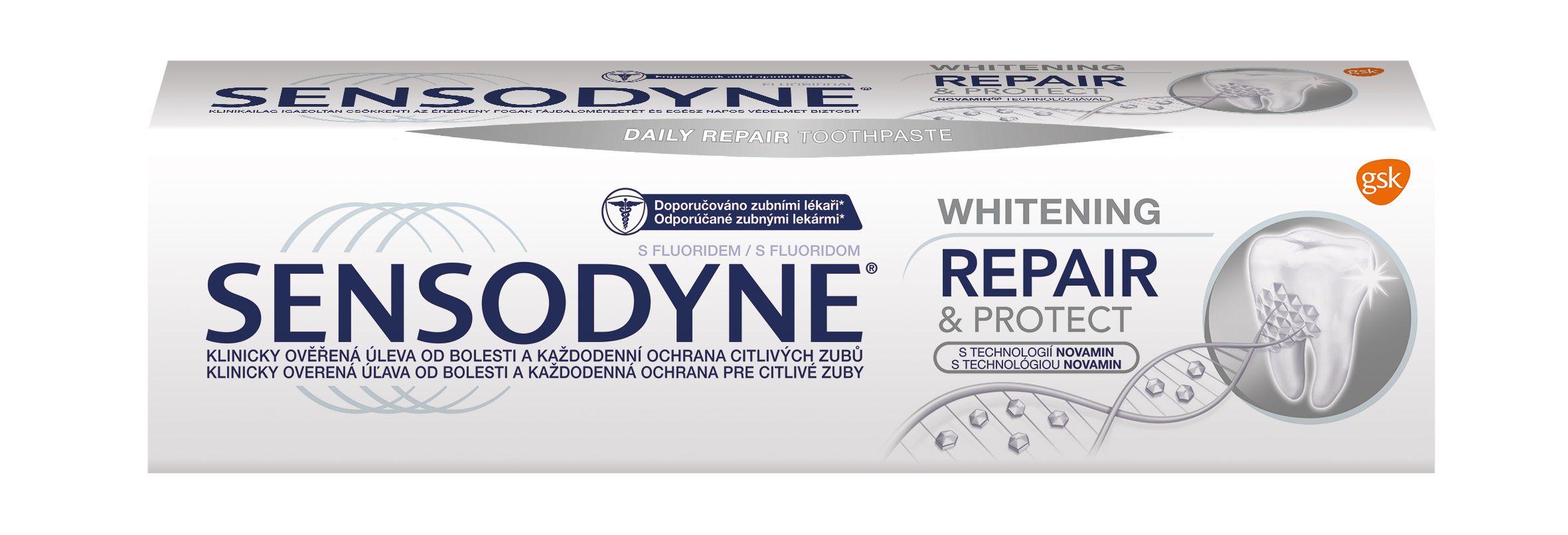 Sensodyne Repair & Protect Whitening zubní pasta 75 ml