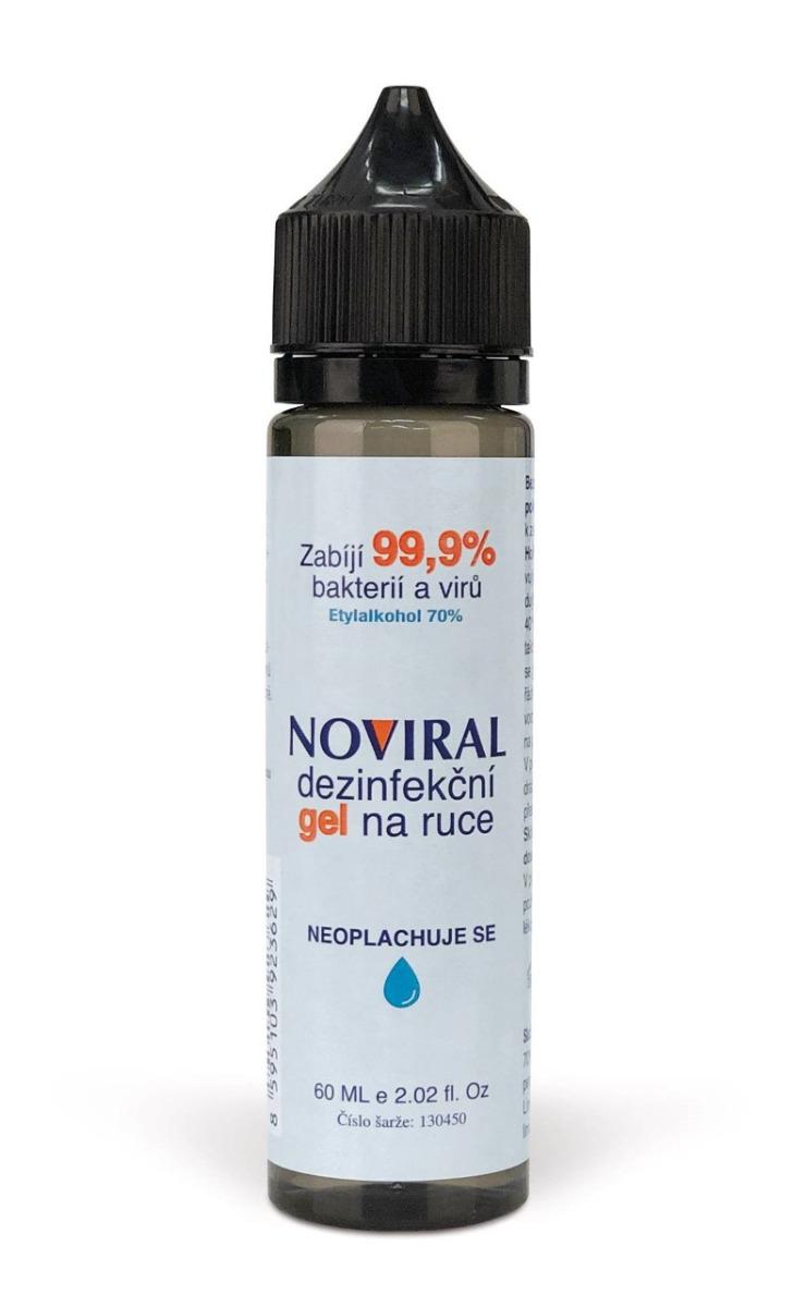 NOVIRAL dezinfekční gel na ruce 60 ml