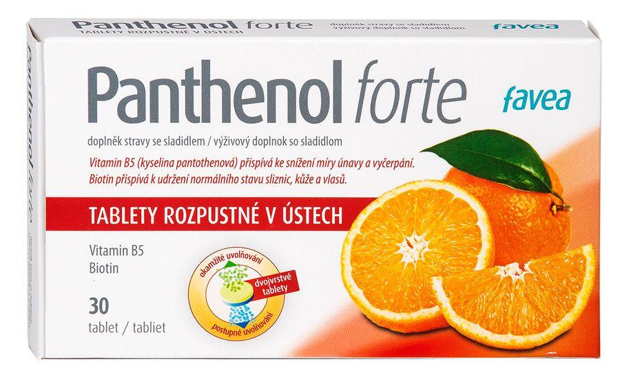 Favea Panthenol forte 30 tablet