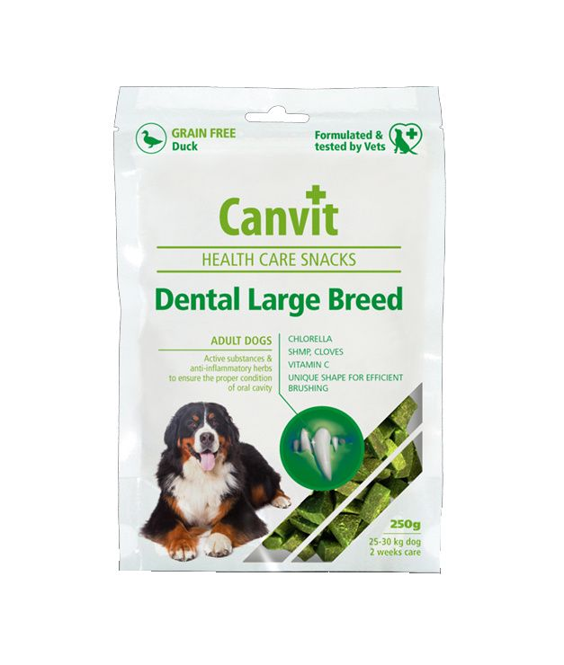 Canvit Snacks Dental Large Breed pro psy 250 g