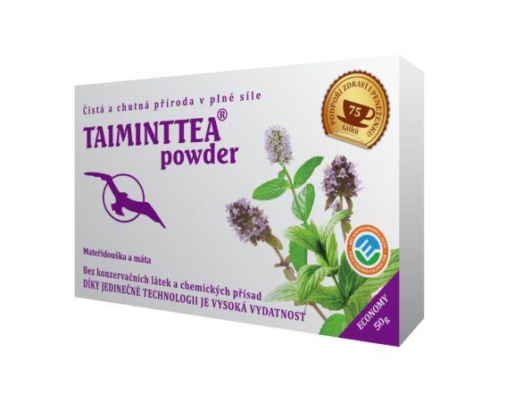 Hannasaki Taiminttea powder sypaný čaj 50 g