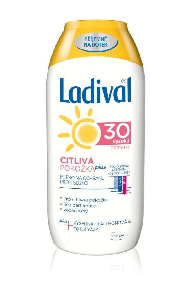 Ladival Citlivá pokožka plus OF30 mléko 200 ml