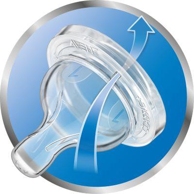Avent Dudlík Anti-colic 1 novorozenecký průtok 2 ks