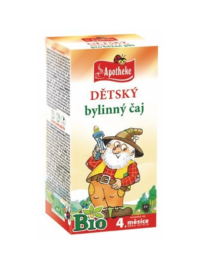 Apotheke Dětský bylinný čaj BIO 20x1,5 g