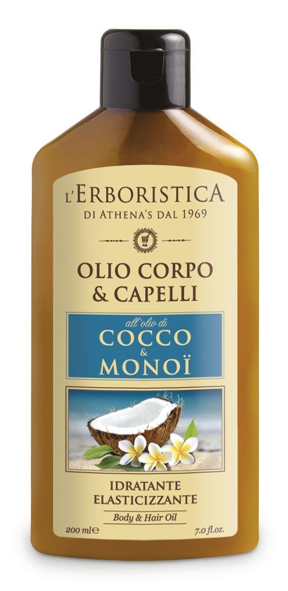 Erboristica Kokosový olej s Monoi 200 ml