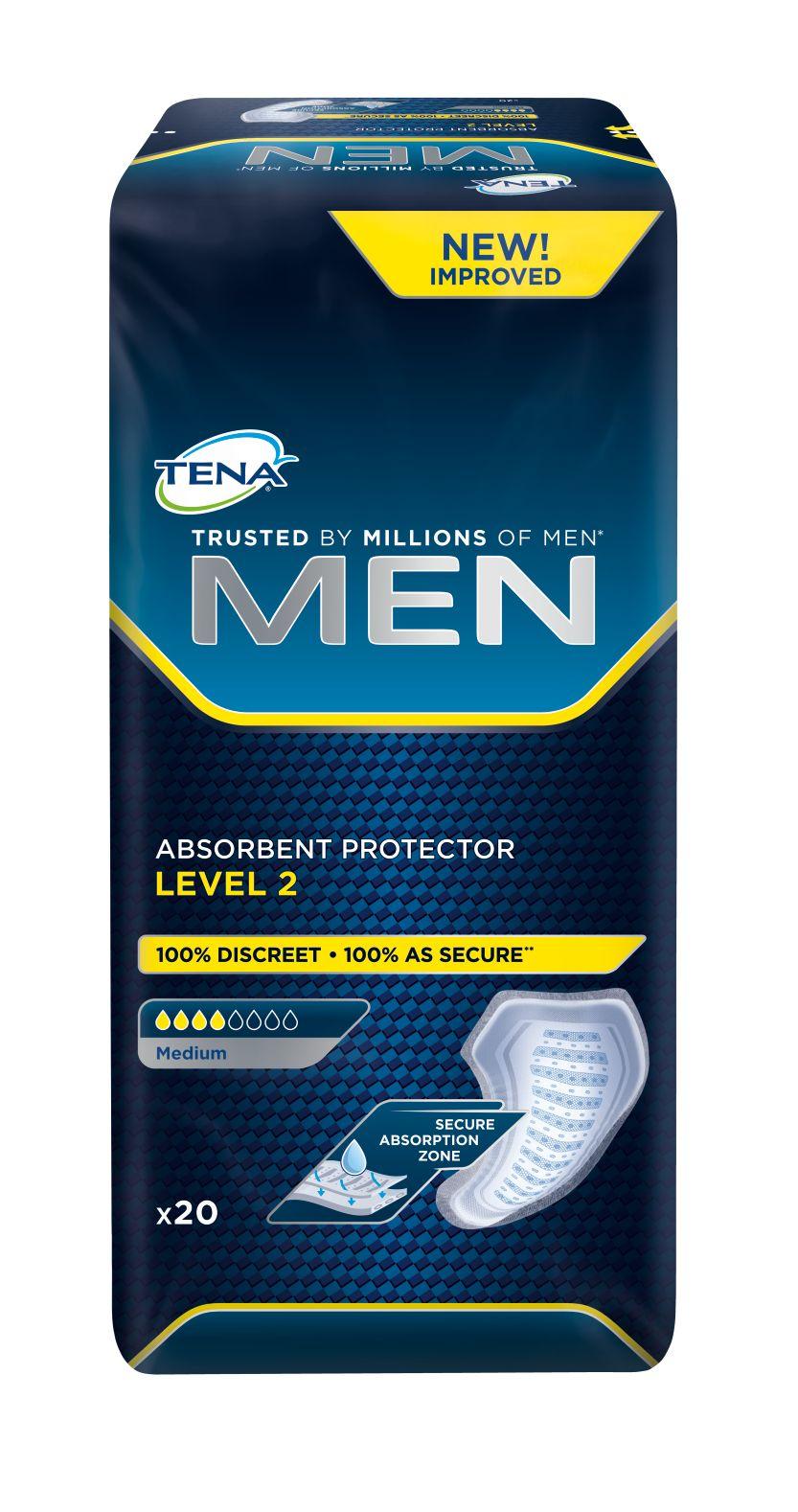 Tena Men Level 2 inkontinenční vložky 20 ks