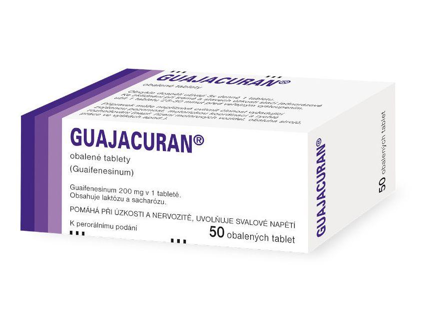 Guajacuran 200 mg 50 tablet