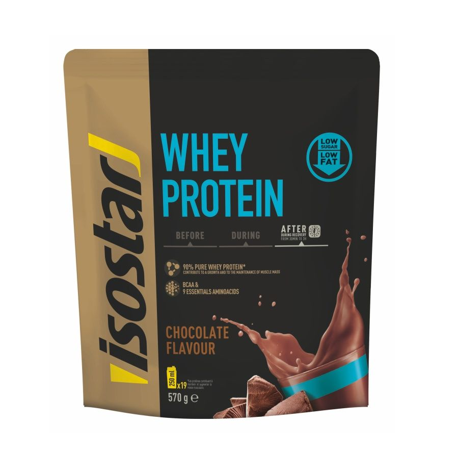 Isostar Whey Protein čokoláda 570 g