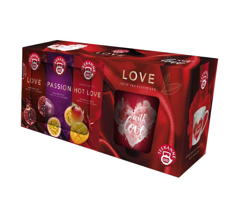 Teekanne On-Pack LOVE 3x20 sáčků + hrnek
