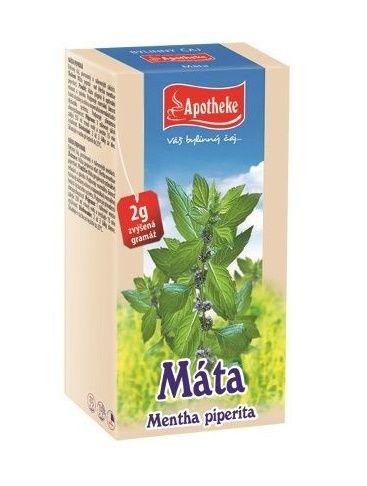 Apotheke Máta peprná porcovaný čaj 20 sáčků