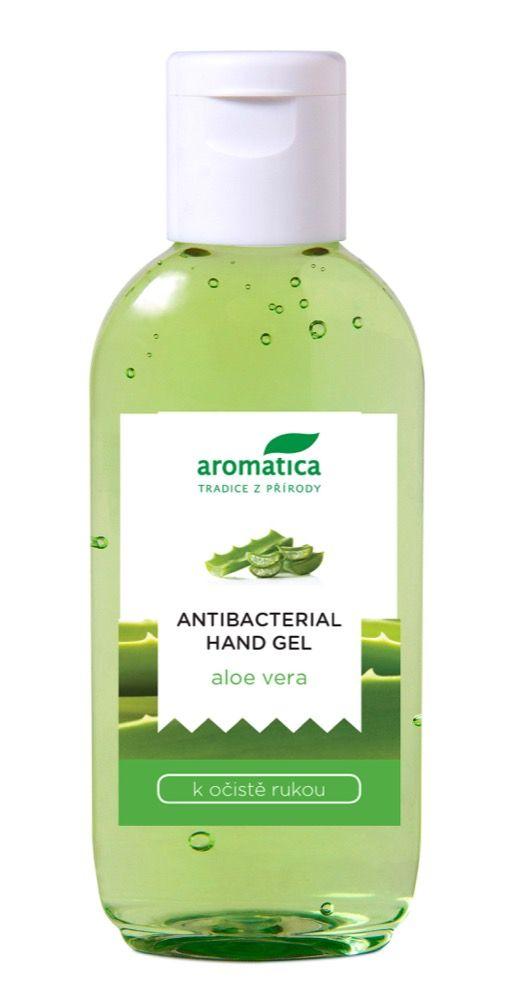 Aromatica Antibacterial hand gel Aloe Vera gel na ruce 75 ml
