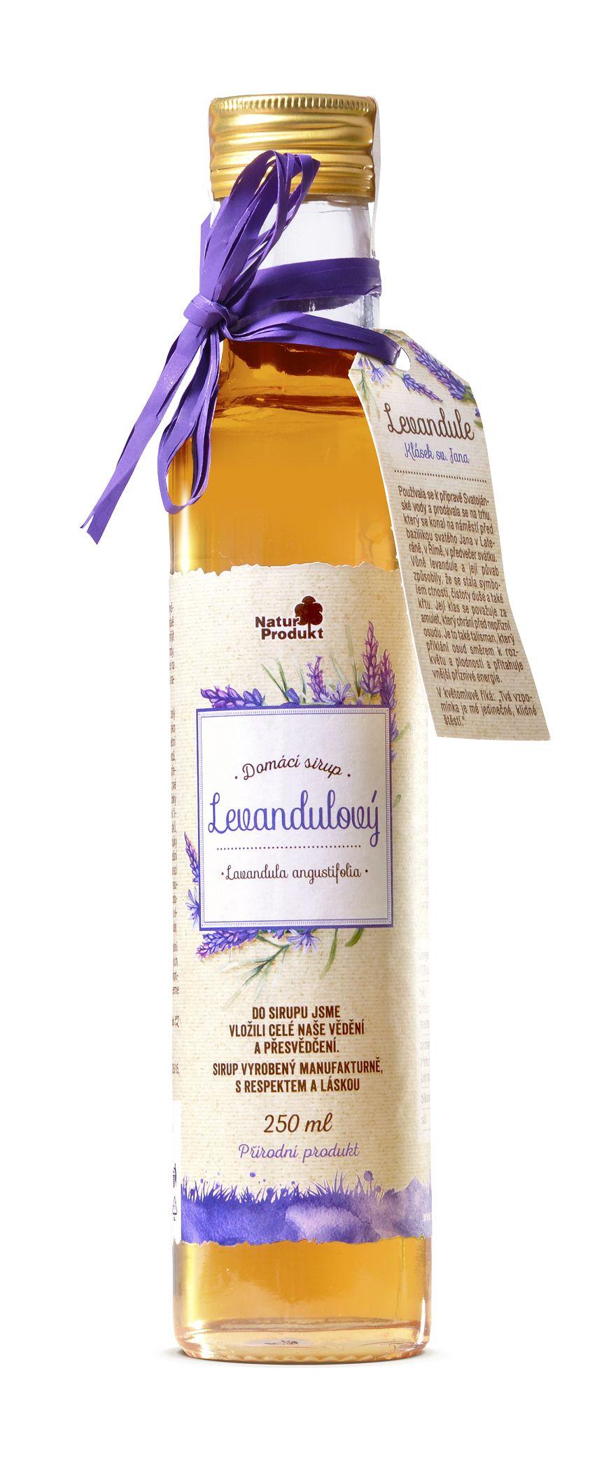 Naturprodukt Sirup levandulový 250 ml