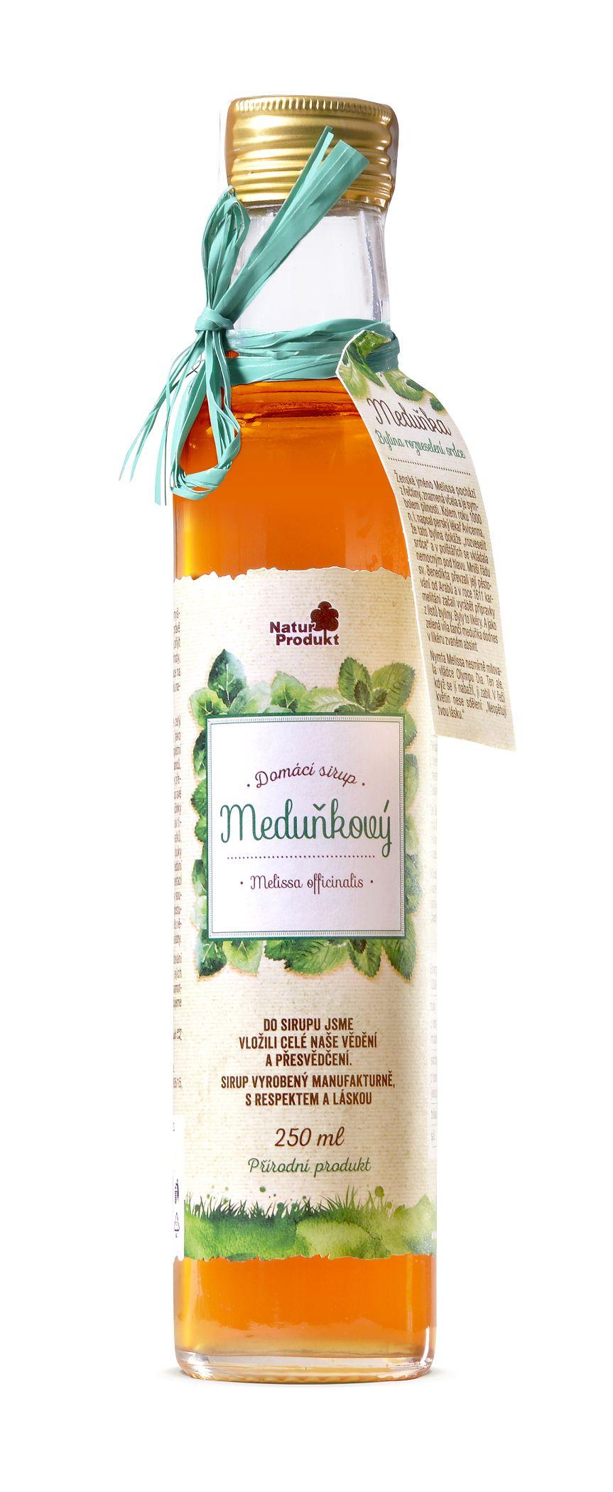 Naturprodukt Sirup meduňkový 250 ml