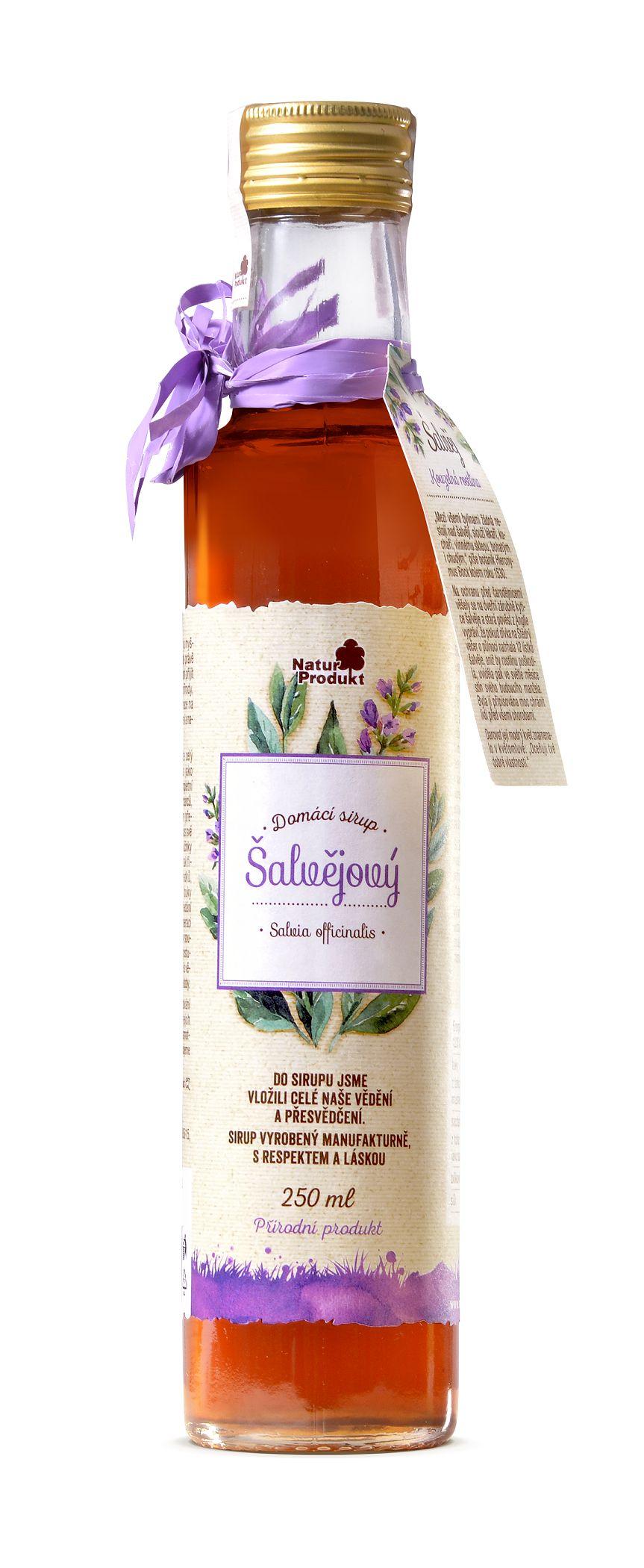 Naturprodukt Sirup šalvějový 250 ml