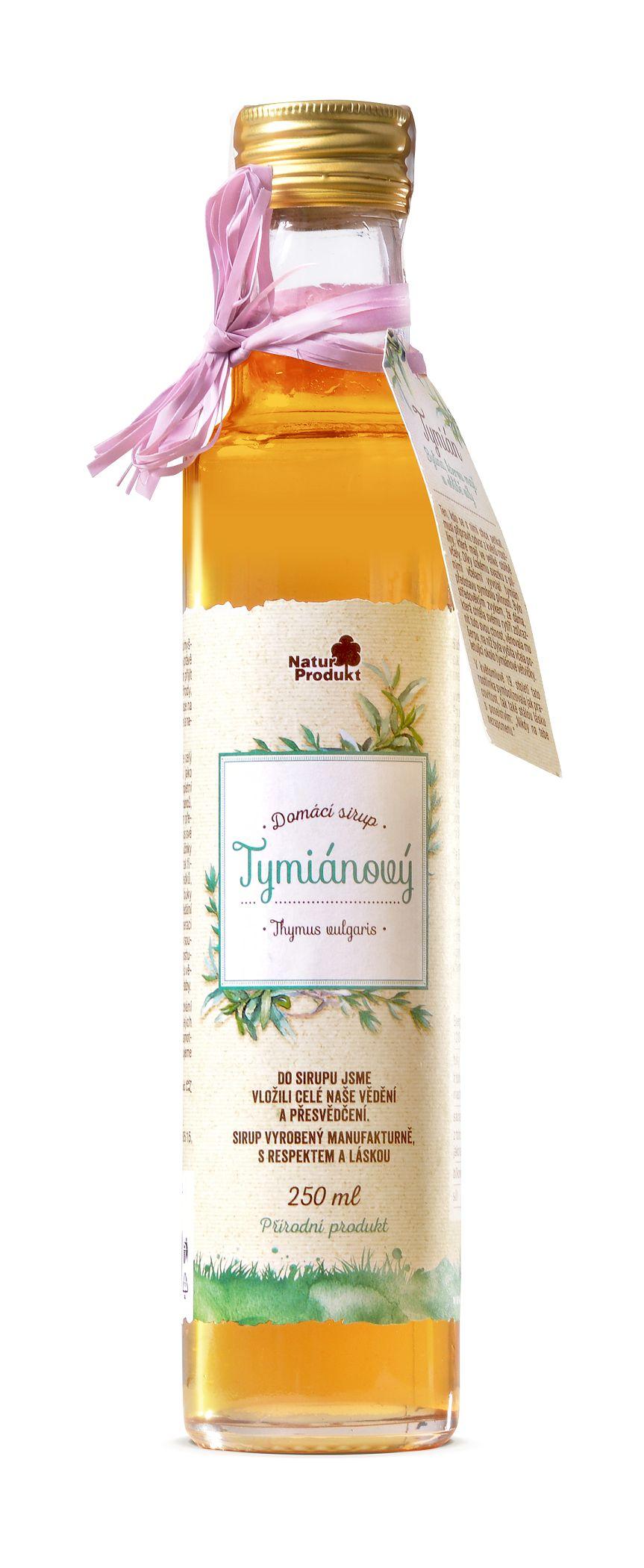 Naturprodukt Sirup tymiánový 250 ml
