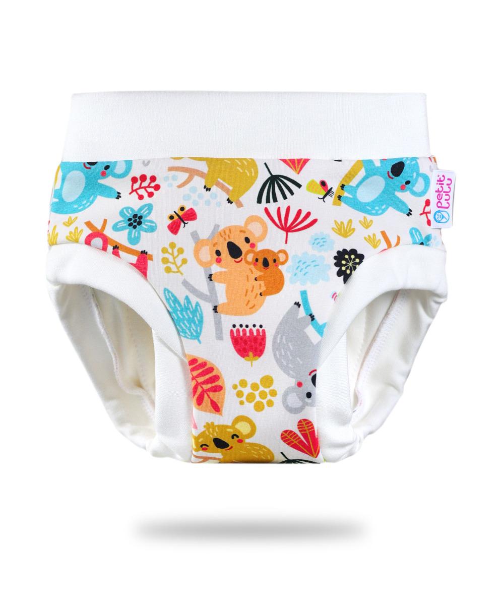 Petit Lulu Tréninkové kalhotky vel. M 1 ks hravé koaly