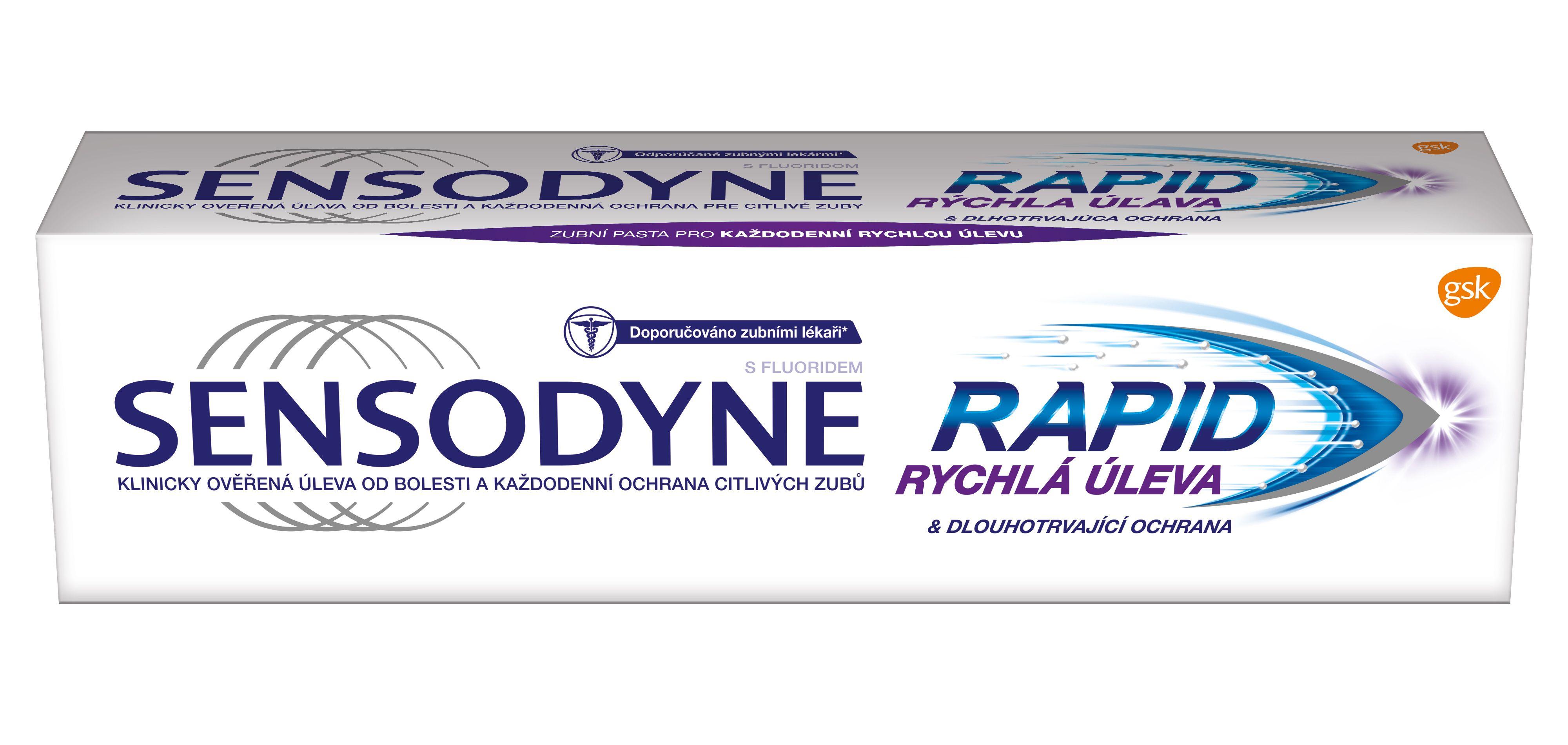 Sensodyne Rapid Relief zubní pasta 75 ml