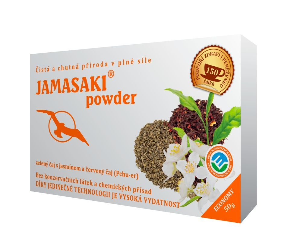 Hannasaki Jamasaki powder sypaný čaj 50 g