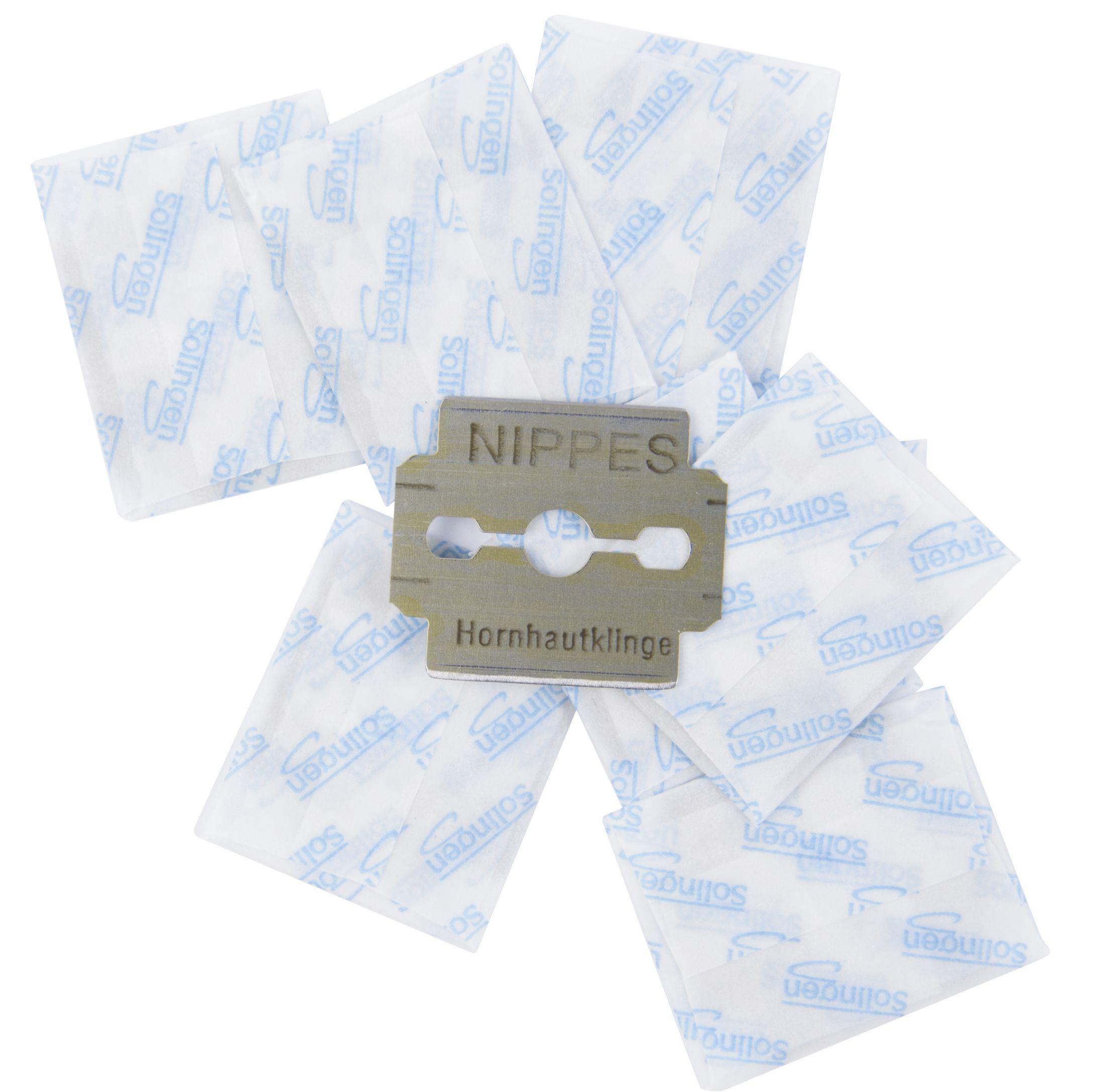 Nippes Solingen Žiletky pro seřezávač balíčky 2x10 ks